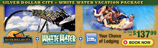 whitewater branson vacation package